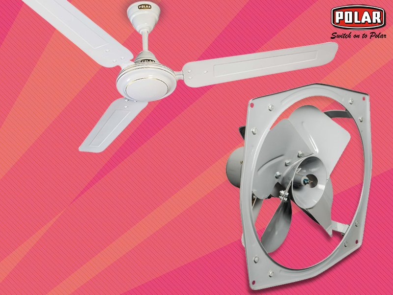 Ceiling Fans versus Exhaust Fans for Your Bathroom