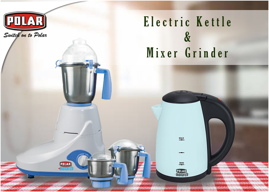 Mixer Grinder And Electric Kettle