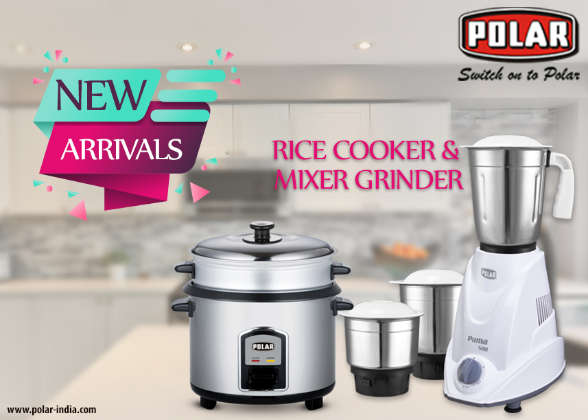 rice cooker and grinder