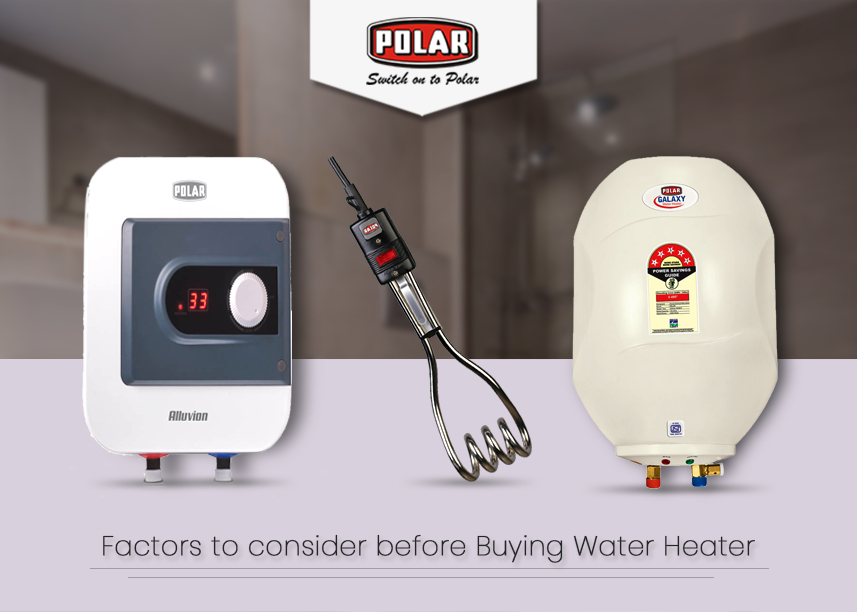 Buy water heater online