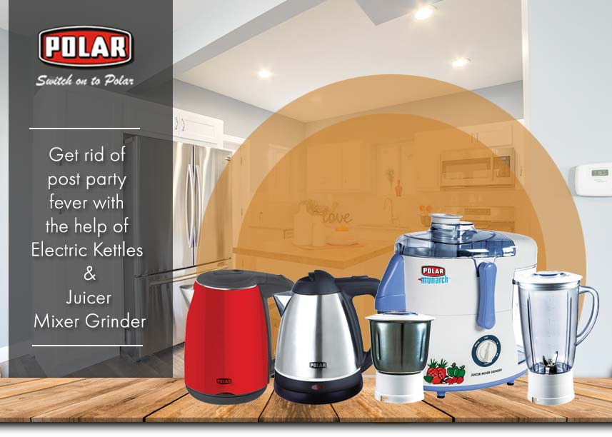 Electric Kettle and Juicer Mixer Grinder