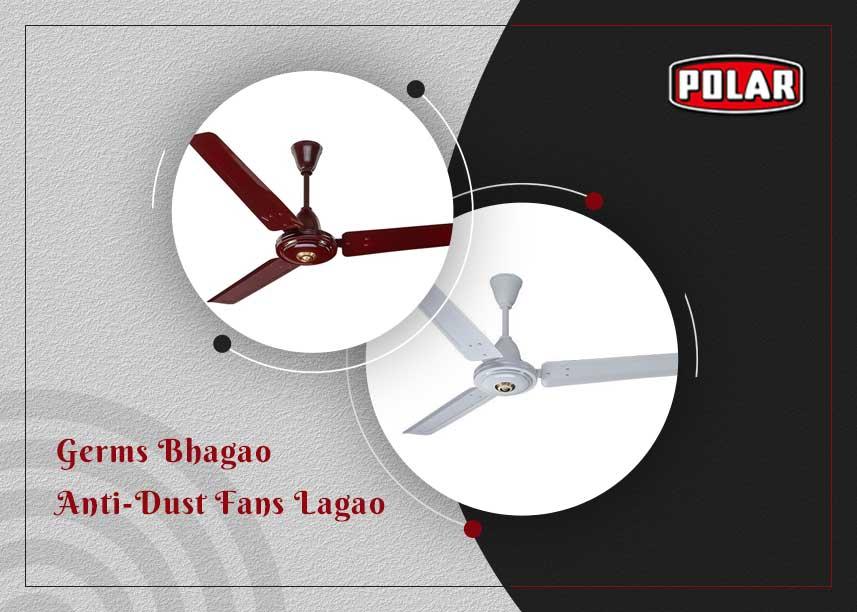 Anti-Dust Ceiling Fan