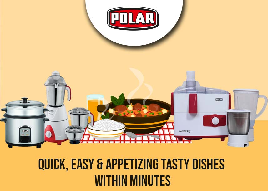 Polar Mixer & Rice Cooker
