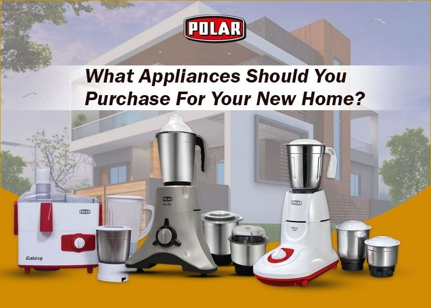 home appliances list