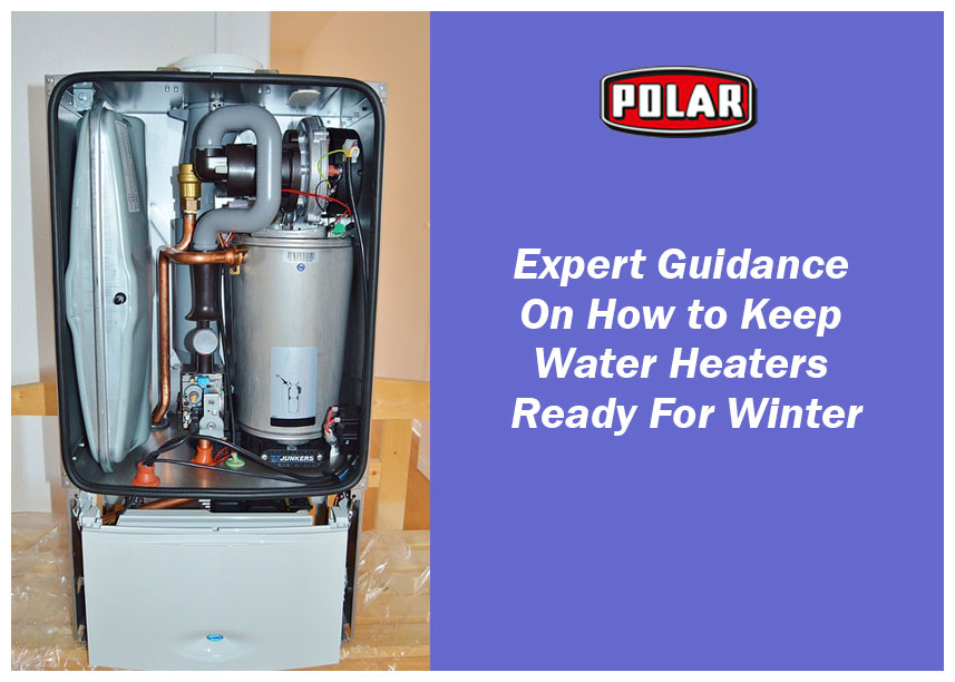 Guidance on how to keep your water heater ready for winter