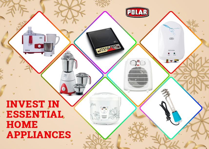 ideas to Invest in Essential Home Appliances