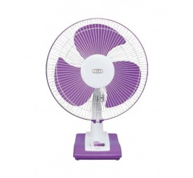 Polar Annexer Osc High Speed Fan in White - Mauve