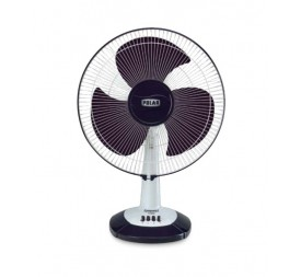 Polar Conquest Hi-Speed Table Fan in White - Purple