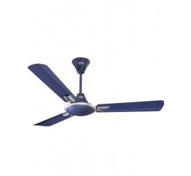 Polar Corvette Fan in Indigo Blue - Silver