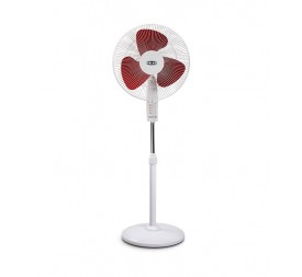 Polar Annexer - MB Osc Fan in White - Maroon