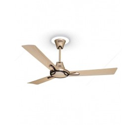 Polar Spright Fan in Pearl Ivory - Metallic Brown