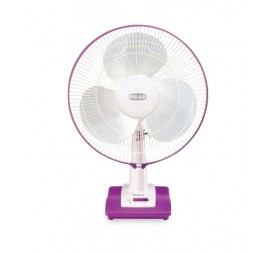 Polar Annexer Osc Regular Speed Fan in White - Mauve