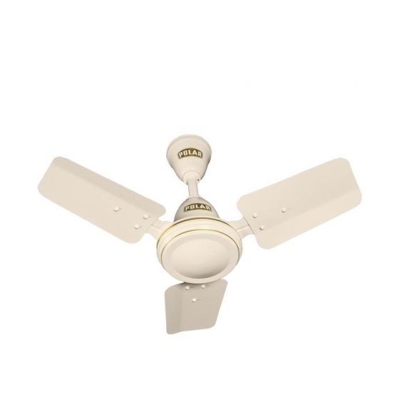 Polar Super Speed 600mm 3 Blade Fan in Ivory