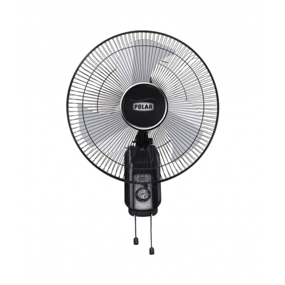 Polar Fanny Wall Fan in Black - Silver