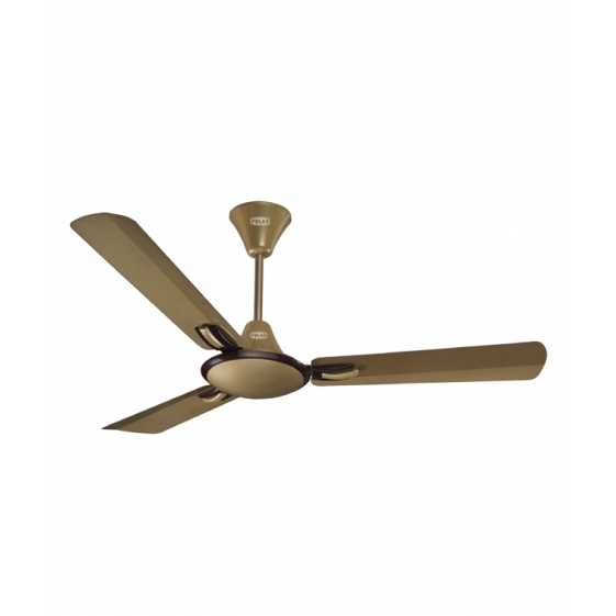 Polar Corvette Fan in Brikin Effect Gold - Brown