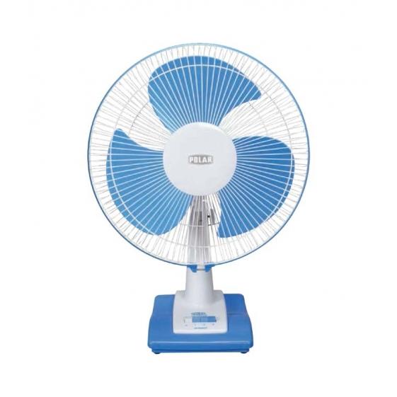 Polar Annexer Osc High Speed Fan in White - Blue