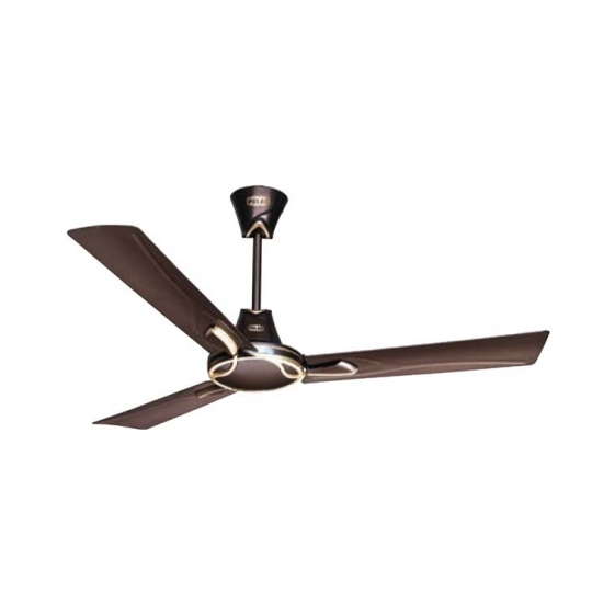 Polar Spright Fan in Pearl Brown - Matt Gold
