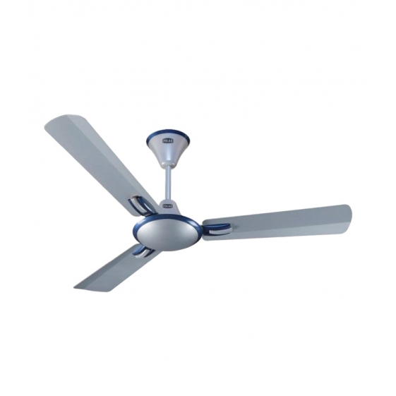 Polar Corvette Anti Dust Fan in Pearl Silver - Indigo Blue