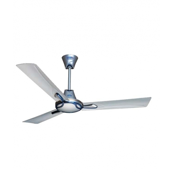 Polar Spright Fan in Pearl Silver - Metallic Blue
