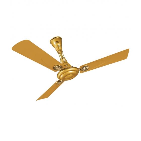 """POLAR Wintop Electric Ceiling Fan """"Golden Glow"""""""