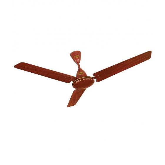 """POLAR Zodiac Base Electric Ceiling Fan """"Brown"""""""