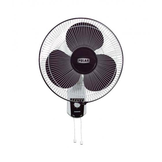 Polar Conquest Regular-Speed Wall Fan in White - Purple