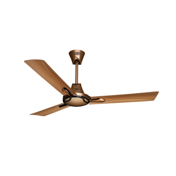 "POLAR (1200mm) SPRIGHT Electric Ceiling Fan ""Golden Dune-Metallic Brown"""