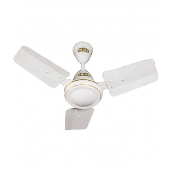 Polar Super Speed 600mm 3 Blade Fan in White